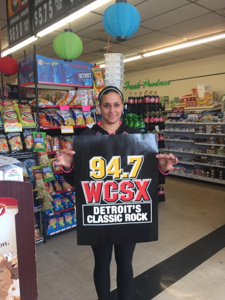 <big><big>The shoppers at Shoppers Valley Market love WCSX!