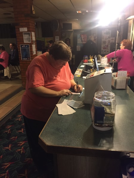 <big><big>The Workforce was at Biddle Bowl with a chance to win cool prizes.