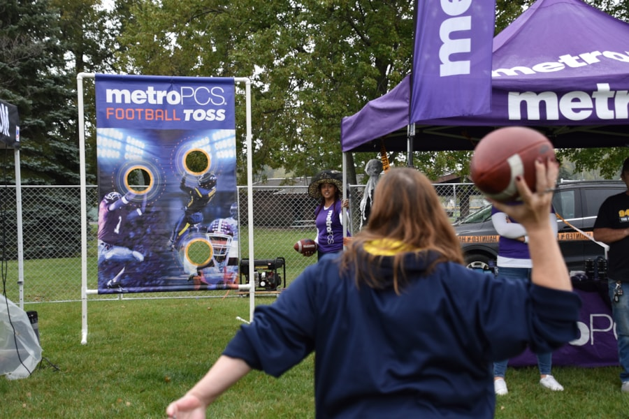 <big><big>Our friends from Metro PCS were there with games and fun.