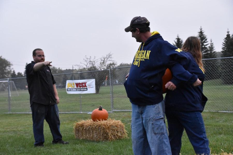 <big><big>We had all kinds of pumpkin-themed activities!