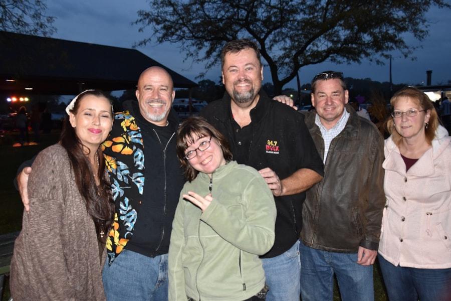 <big><big>Everyone had fun at the WCSX Bonfire!
