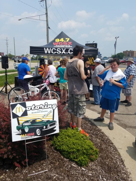 Cruisin' with a Michigan Classic...and we gave away that bike!