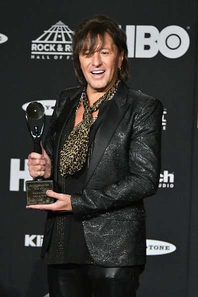 CLEVELAND, OH - APRIL 14:  Inductee Richie Sambora of Bon Jovi attends the 33rd Annual Rock & Roll Hall of Fame Induction Ceremony at Public Auditorium on April 14, 2018 in Cleveland, Ohio.  (Photo by Mike Coppola/Getty Images For The Rock and Roll Hall of Fame)