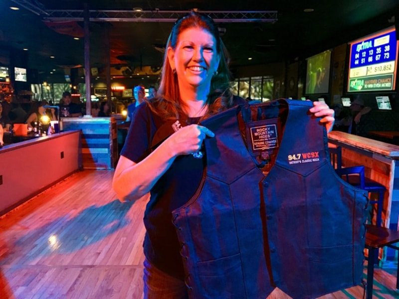 You could win a vest from us at Bike Night