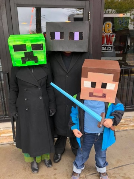 We spotted some pretty awesome costumes!