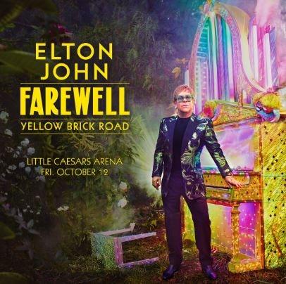 Elton John's Farewell Yellow Brick Road Tour Setlist