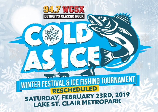 Cold As Ice Winter Festival & Ice Fishing Tournament