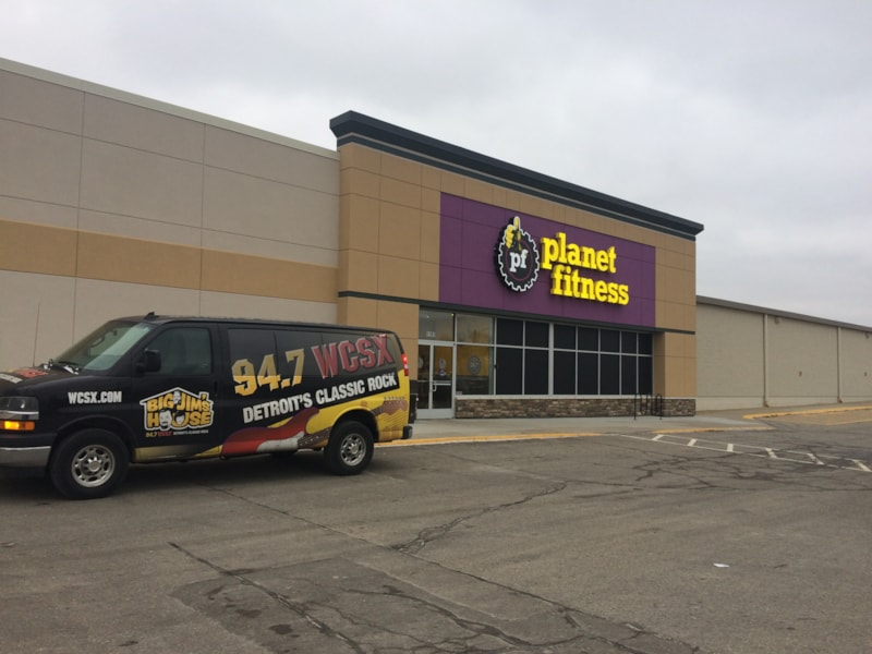 WCSX was at the grand opening of Planet Fitness in Lake Orion!
