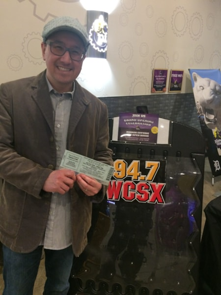 One lucky listener won Auto Show tickets!
