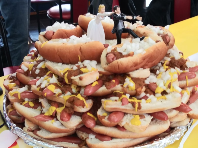 Thank you American Coney Island for the Coney Cake