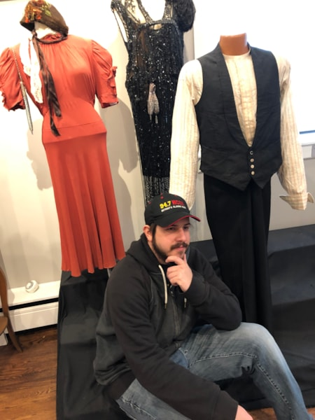 Steven was trying to figure out which to try on...
