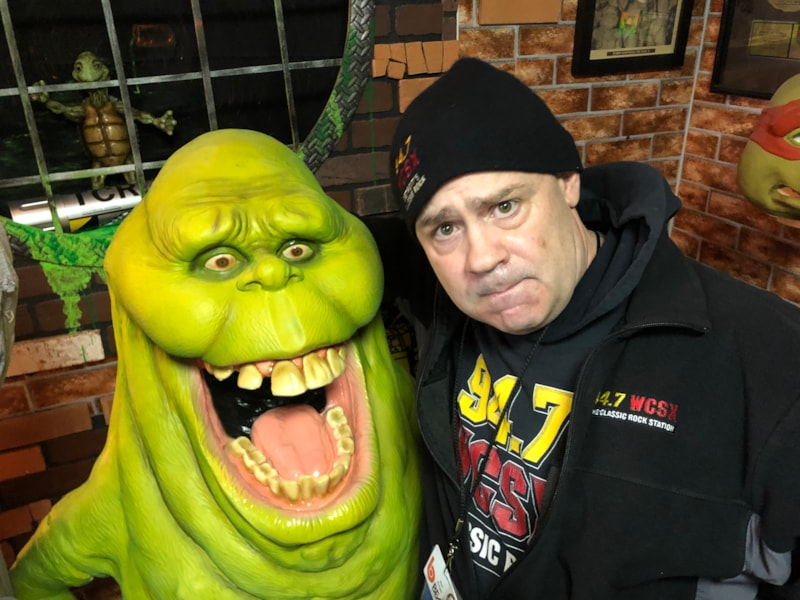 Is that Joel with the Mucinex guy? LOL