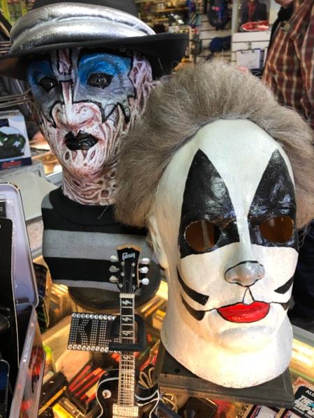 Kiss themed Freddy Krueger and Michael Meyers