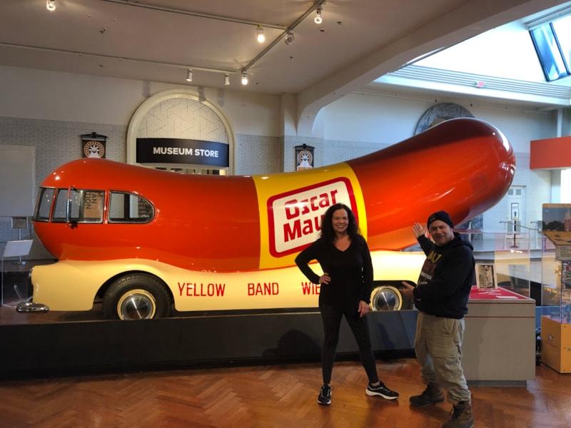 The infamous Wienermobile!