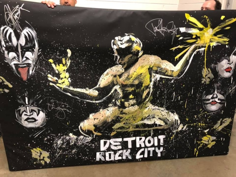 KISS+Detroit go so well together