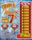 Michigan Lottery chance to win: $2 Triple Winning 7's